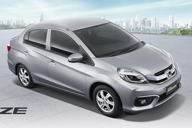 Honda-Brio-Amaze-facelift-front-quarter
