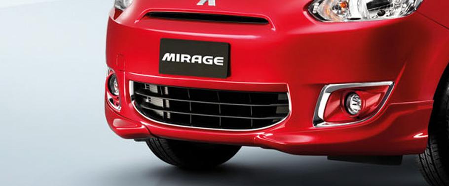 Mitsubishi Mirage, Small Hatchback Yang Lebih Sporty