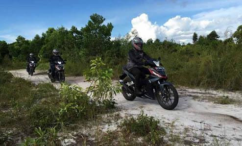 Kilometer Berbagi Honda Supra GTR Touring