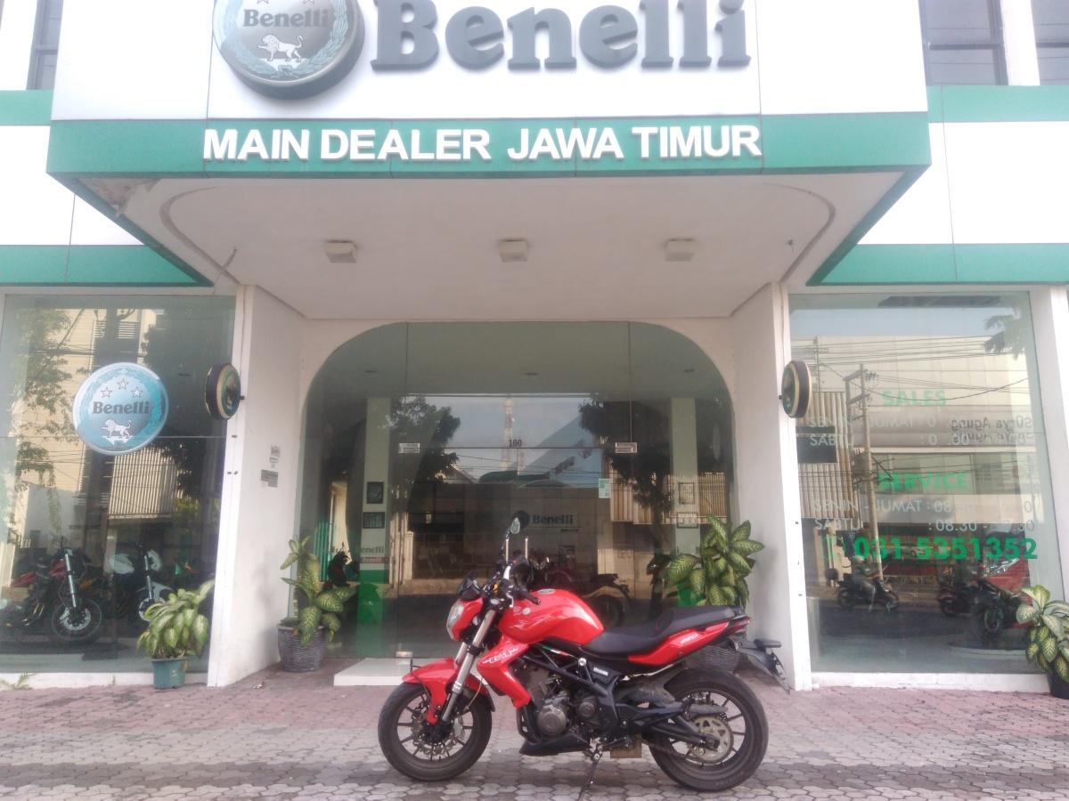 Riding Harian Benelli TNT 250, Serasa mengendarai Moge (Bagian 1)