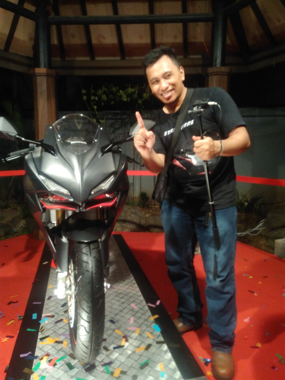 Video Honda All New CBR 250RR Body Full Frame by Frame