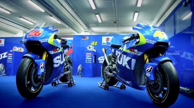 Vinales juarai MotoGP Inggris 2016 berkat GSX-RR, apa resepnya?