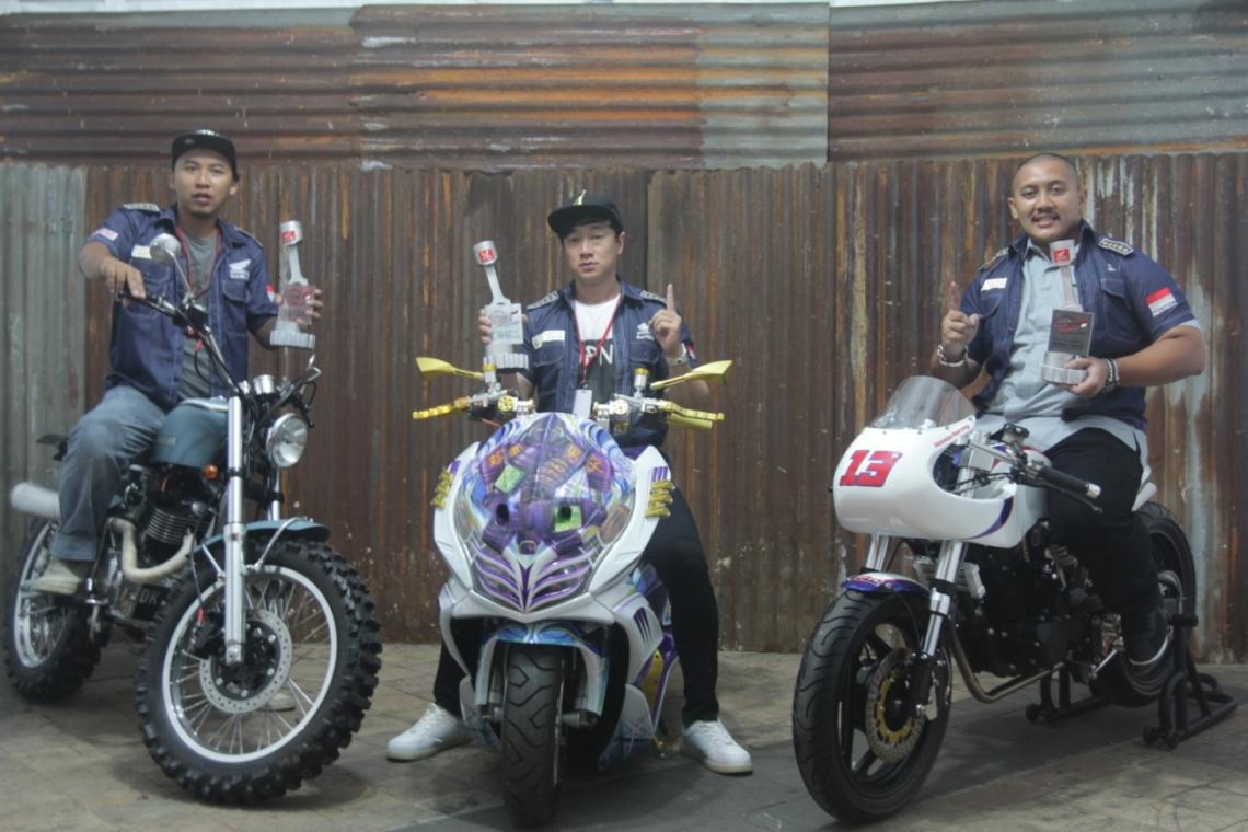 Inilah juara Nasional Honda Modif Contest 2016