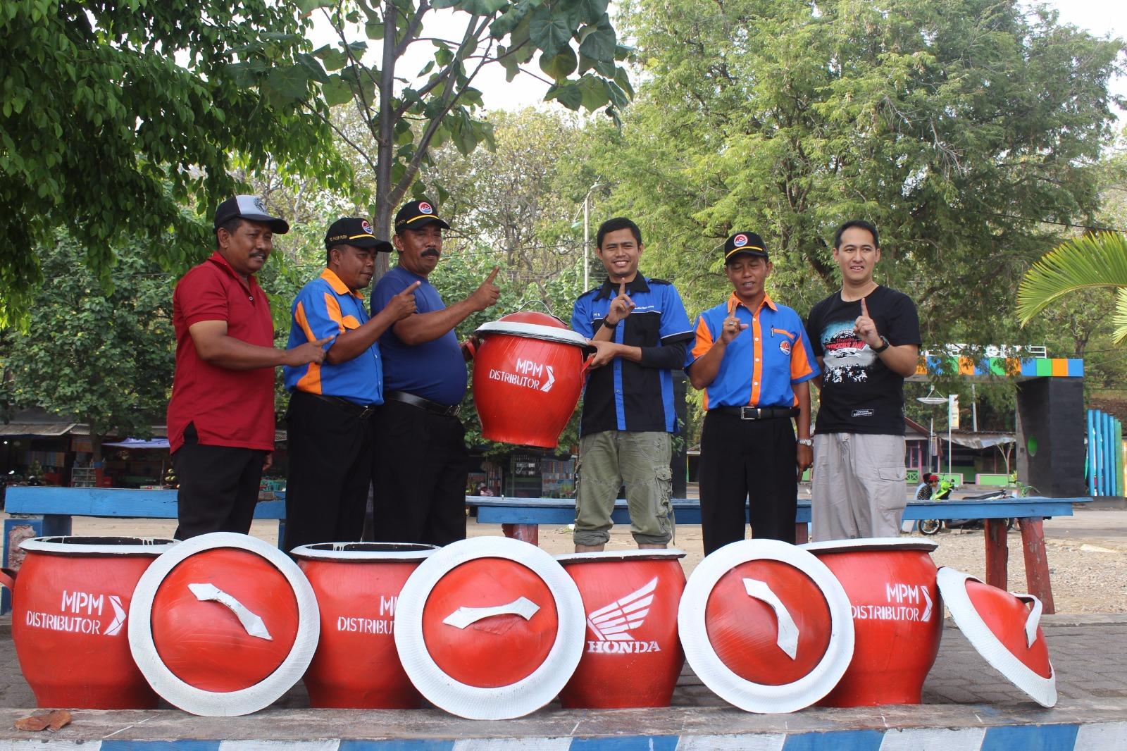 Fun touring Honda MPM bersama Jatimotoblog – Bersih bersih sampah di Pantai (Bagian 2)