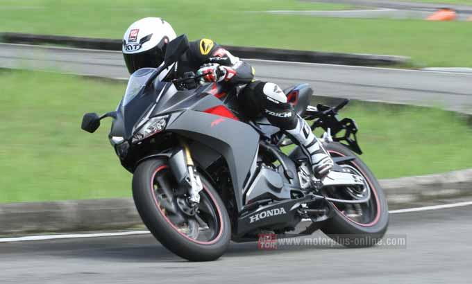 Gambaran Power Honda CBR 250RR saat test ride oleh media