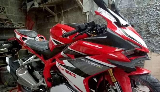 Bikin ganteng CBR 250RR dengan aksesoris winglet ala MotoGP