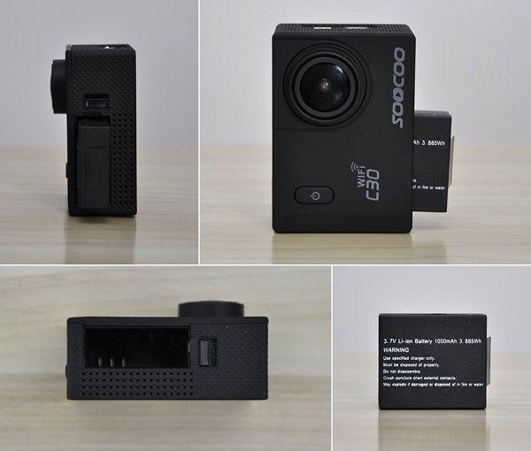 C30_Action_Sport_Camera_Battery