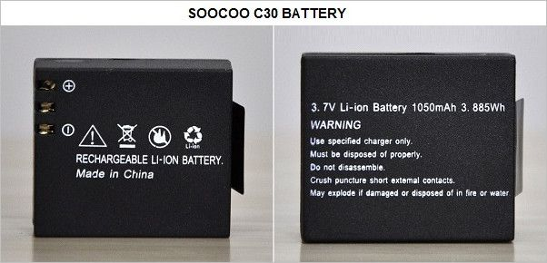 SOOCOO_C30_Camera_Battery