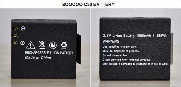 SOOCOO_C30_Camera_Battery